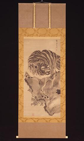 松尾芭蕉自画像